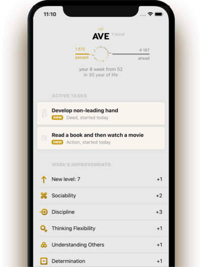 AVE App: Self-Development